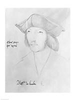 Charles de Bourbon Fine Art Print