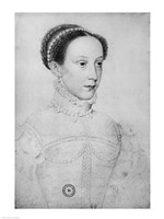 Mary Queen of Scots, 1559 Fine Art Print