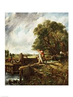 The Lock, 1824 Fine Art Print