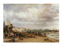 Marine Parade and Old Chain Pier, 1827 Fine Art Print