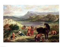 Ovid among the Scythians, 1859 Fine Art Print