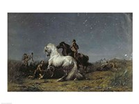 The Horse Thieves Fine Art Print