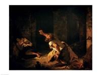 The Prisoner of Chillon, 1834 Fine Art Print