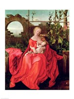 Virgin and Child 'Madonna with the Iris', 1508 Fine Art Print