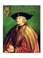 Emperor Maximilian I Fine Art Print