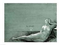 Reclining female nude, 1501 Fine Art Print