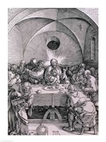 The Last Supper from the 'Great Passion' Fine Art Print