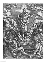 Resurrection, from 'The Great Passion' series, 1510 Fine Art Print