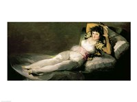 The Clothed Maja, c.1800 Fine Art Print