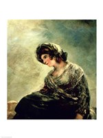 The Milkmaid of Bordeaux, c.1824 Fine Art Print