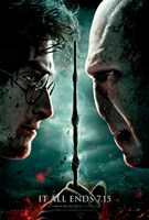 Harry Potter & Deathly Hallows: Part II Wall Poster