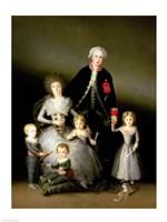 The Duke of Osuna and his Family, 1788 Fine Art Print