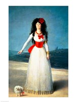 The Duchess of Alba, 1795 Fine Art Print
