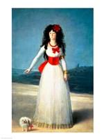 The Duchess of Alba, 1795 Fine Art Print