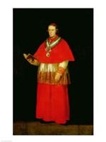 Cardinal Don Luis de Bourbon Fine Art Print