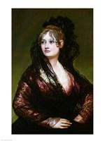 Dona Isabel de Porcel Fine Art Print