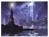 One Nation (city) Fine Art Print