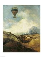 The Balloon Fine Art Print