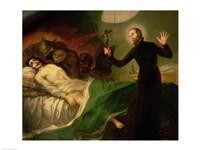 St. Francis Borgia Fine Art Print