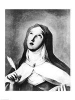 St. Theresa of Avila Fine Art Print