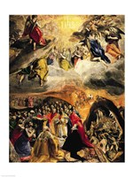 The Adoration of the Name of Jesus, c.1578 Fine Art Print
