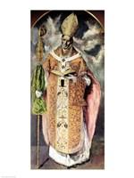 St. Ildefonso Fine Art Print