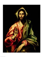 Christ Blessing Fine Art Print