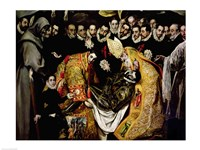 The Burial of Count Orgaz Fine Art Print