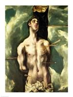 St. Sebastian Fine Art Print