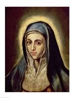 The Virgin Mary Fine Art Print