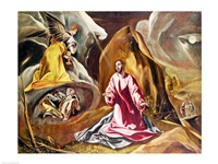 Agony in the Garden of Gethsemane Fine Art Print