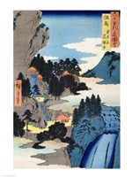 Mountain landscape Fine Art Print