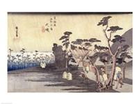 Oiso: Toraga Ame Shower Fine Art Print