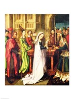 Depiction of Christ in the Temple, 1500 Fine Art Print