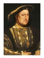 Portrait of Henry VIII Fine Art Print