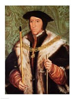 Portrait of Thomas Howard, 1539 Fine Art Print
