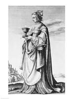 St. Barbara Fine Art Print