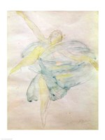 Dancer with Veils Fine Art Print