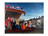 Representatives of the Forces greeting the Republic as a Sign of Peace, 1907 Fine Art Print