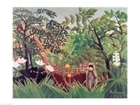 Exotic Landscape, 1910 Framed Print
