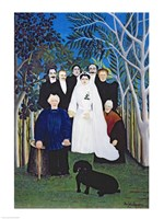 The wedding party Fine Art Print