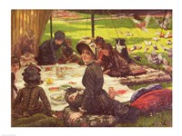 The Picnic Fine Art Print