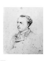 Emmanuel Chabrier aged 20, 1861 Fine Art Print