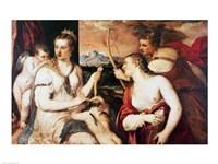 The Education of Cupid, c.1565 Fine Art Print