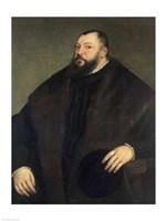 Elector Johann Freidrich ven Sachsen Fine Art Print