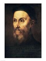 Portrait of John Calvin Fine Art Print