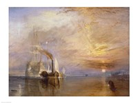 The Fighting Temeraire Fine Art Print