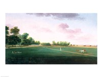 A View of Hyde Park Fine Art Print