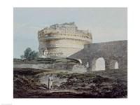 Castle of San Angelo, Rome Fine Art Print