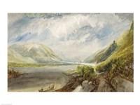 Junction of the Lahn, 1817 Fine Art Print